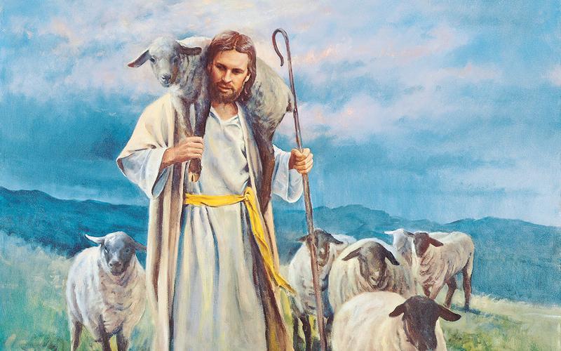 JESUS THE GOOD SHEPHERD BY DEL PARSON